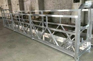 zlp800 tērauda piekares darba platforma 380v 3 fāzes ārsienas tīrīšanai