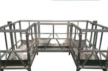 augstas izturības piekarināmā darba platforma ar lenti