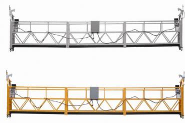 Karstā pārdošana Alumīnija sakausējuma piekares platforma / piekarināmā gondola / piekarināmā šūpulis / apturētā šūpoles posms ar formu E