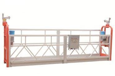 zlp630 krāsota tērauda fasādes tīrīšana apturēta darba platforma