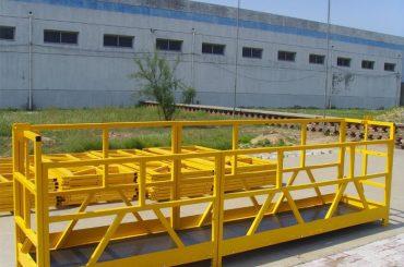 ZLP 800 augstas izbūves ēkas loga tīrītāja platforma 300M 2.5M * 3 1.8KW 800KG