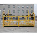 augstas kvalitātes un karstās zlp630 zlp800 jaudas darba platforma zlp 630 piekarināmā platforma