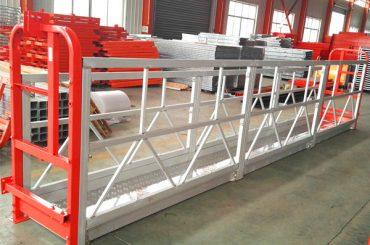 Logu tīrīšana ar virvju piekaramo platformu ZLP630 ar pacēlāju LTD6.3 Motor Power 1.5kw