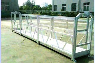 karsti cinkota virve piekarināmā platforma, augstceltņu apbūvēta gondola