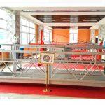 zlp630 alumīnija piekares platforma (ce iso gost) / augsta logu tīrīšanas iekārtas / pagaidu gondola / šūpulis / šūpoles posms karsti