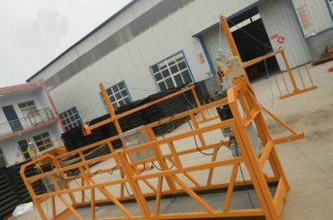 Uzticama ZLP630 gleznošana Tērauda piekārto darba platforma celtniecības celtniecībai (2)