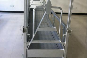 piekares tērauda darba platforma / piekarināmā tērauda platforma