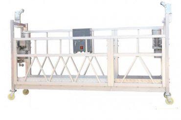 tērauda krāsots / karsti cinkots / alumīnijs zlp630 apturēta darba platforma fasādes krāsošanai