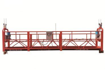 tērauda / karsti cinkota pagaidu platforma, zlp500 apkopes paliktnis