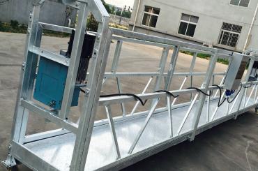 logu tīrīšana zlp630 virvju piekaramā platformas gondolas šūpulis ar pacēlāju ltd6.3