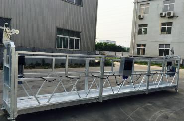 regulējams alumīnija sakausējuma troses platforma zlp 800 atjaunošanai / krāsošanai