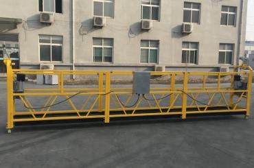krāsota alumīnija piekaramā troses platforma 500kg / 630kg / 800kg / 1000kg