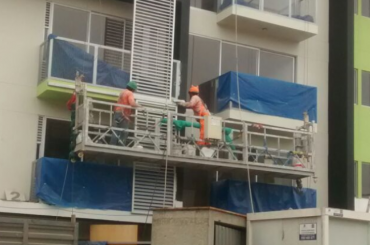 celtniecības uzturēšana virves piekarināmā platforma ar pacēlāju ltd8.0 zlp800